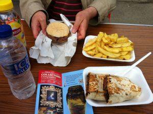 Bushey Yew Tree Fair food