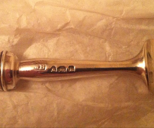 Antique silver fork MB