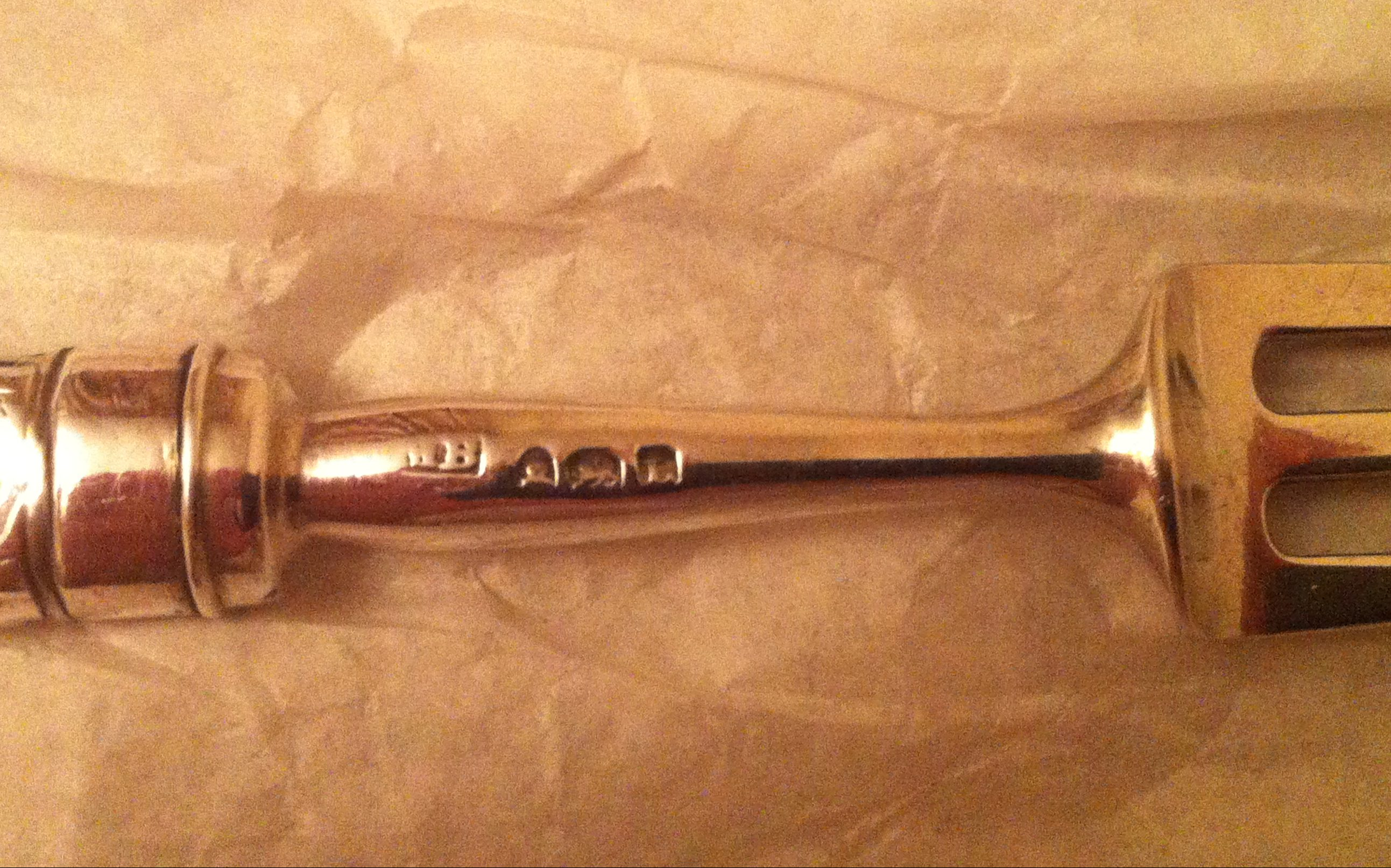 Antique silver fork MB