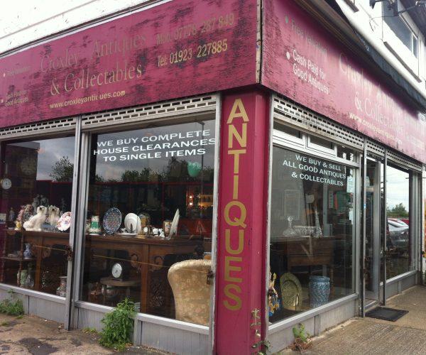 Croxley Antique shop