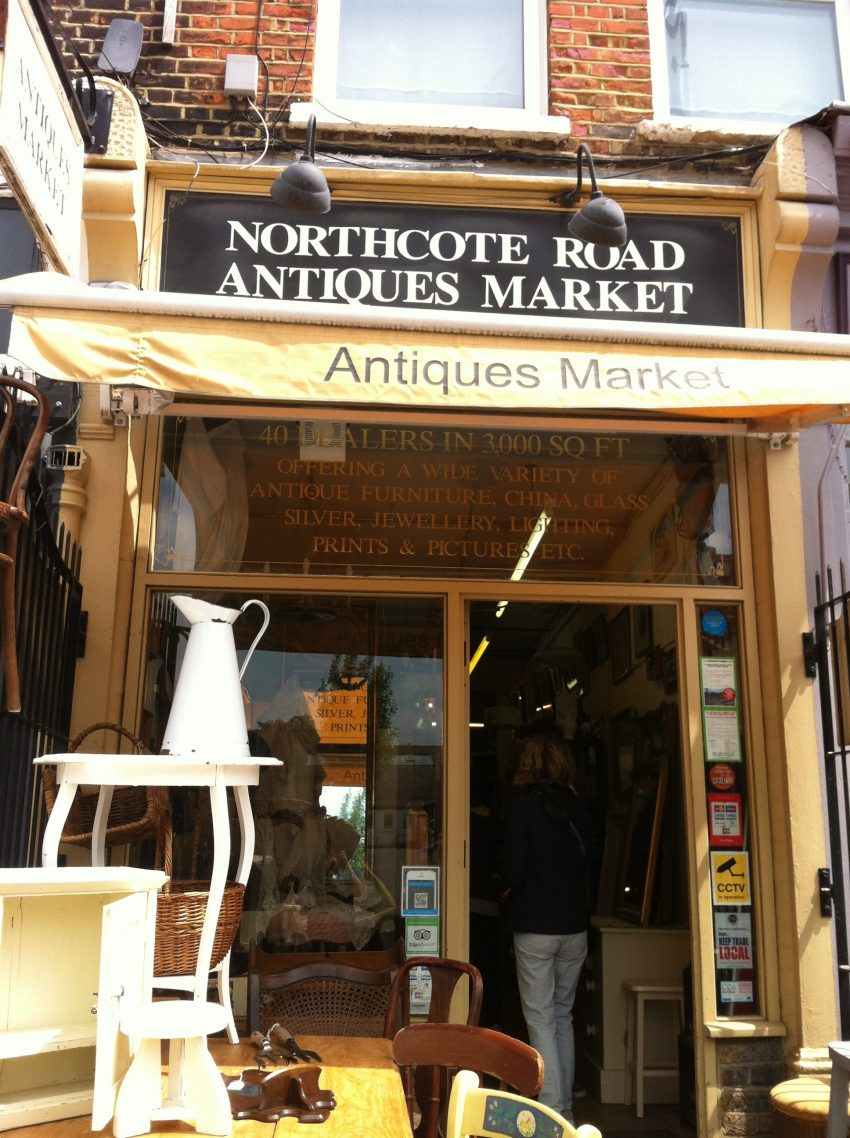 Northcote Road Antiques market Clapham