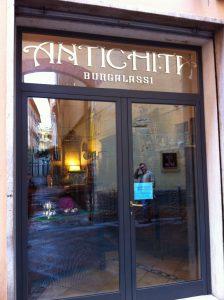 Antichita Burgalassi front door
