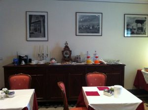 Breakfast room Hotel Portici