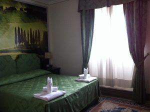 Hotel Portici Arezzo Bedroom