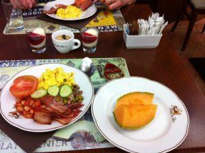 La Pace breakfast