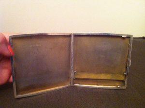 birmingham 1921 cigarette case