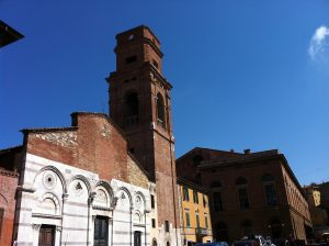 One of the Piazza near San Francesco street Pisa