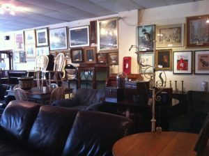paintings, prints, display cabinets