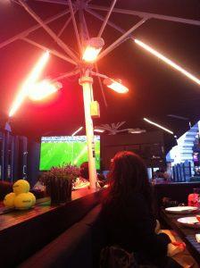 Euro 2016 game at Gaucho