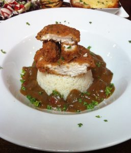 Chicken Katsu Curry Windsor Castle Pub