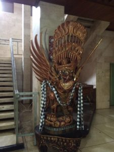 Garuda, a vehicle for God Vishnu
