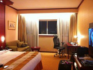 Hotel Borobudur bedroom