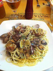 Spaghetti Vongole ala Milanese