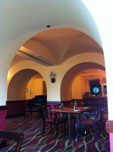 Interior at Bruschetta Restaurant