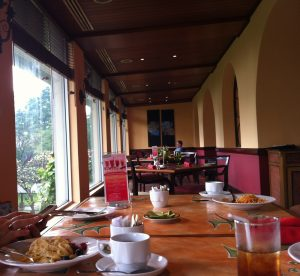bruschetta restaurant at hotel borobudur