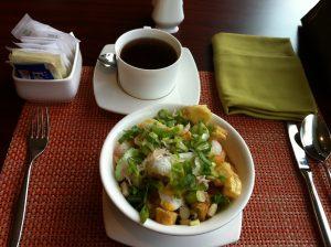 Indonesian style chicken porridge