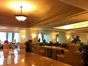 hotel borobudur lobby
