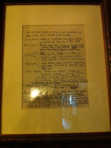 Handwriting of C.S. Lewis and J.R.R. Tolkien