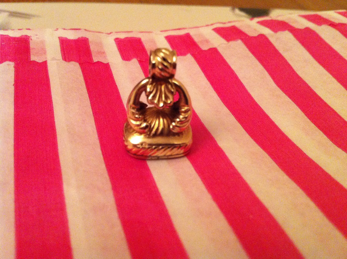 Gold Seal Intaglio Pendant