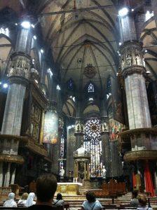 Mass at Duomo di Milano