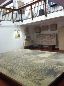 Roman mosaics found in Bergamo