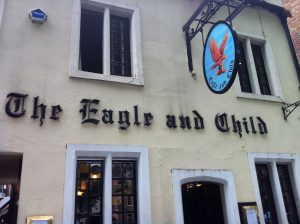 The Eagle and Child Oxford Front Door