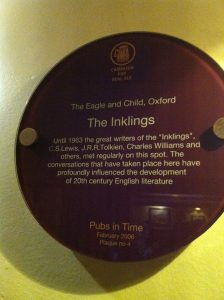 The Inklings J.R.R. Tolkien and C.S. Lewis regularly met