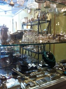 Vesta cases at Bourbon Hanby Chelsea antiques