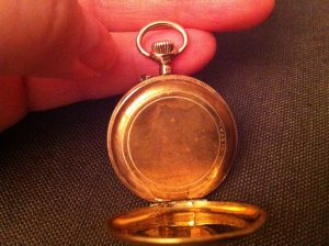 14k swiss ladies pocket watch