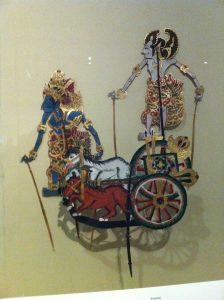 The Mahabharata Antique Wayang