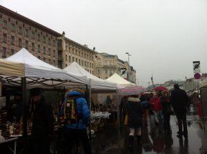 antique market in naschmarkt