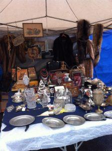 antique market in vienna