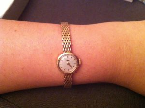 ladies longines watch 9ct