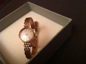 longines gold watch