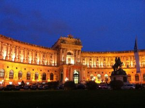 Habsburg Palace in Vienna