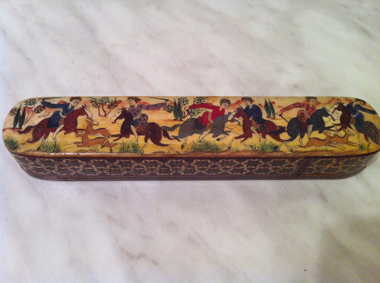 Antique Persian pencil case