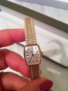 Tissot with solid original bracelet
