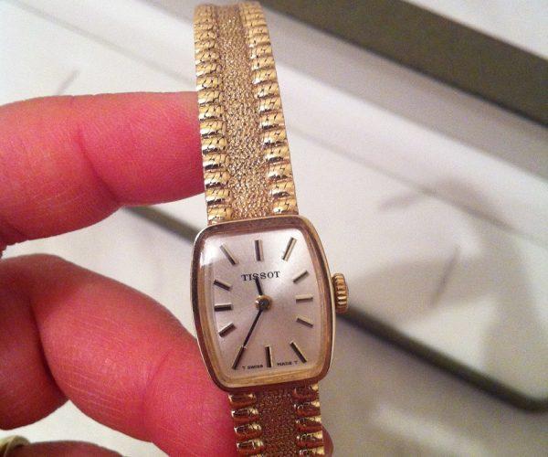 Tissot with solid original bracelet