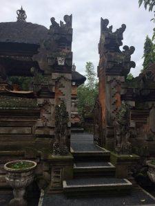 Balinese Architecture Tirta Empul Area