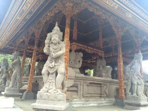 Balinese Gods at Tirta Empul