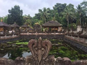 Beautiful scenery at Tirta Empul