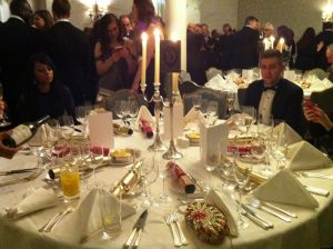 Christmas Party at Savoy Hotel