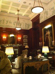 Lobby at Savoy Hotel