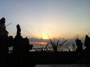 Another sunset snap taken from Pura Batu Bolong