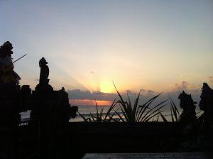 Another sunset snap taken from Pura Batu Bolong