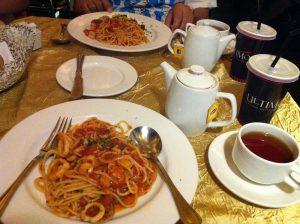 Ultimo Italian Seminyak Seafood Pasta