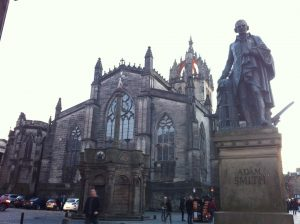 Adam Smith and St Gile's Cathedral