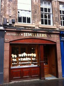 Antiques Shop in Royal Mile