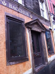 Bacchus Antiques Edinburgh