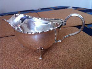 Birmingham silver jug MSB
